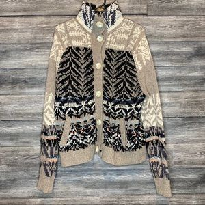 Free People Thick Knit Sweater